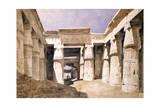 Temple De Khons, Karnack, Egypt, 19th Century Giclee Print by Hector Horeau