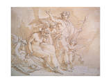 Bacchus and Ariadne, 1780S Giclee Print by Giuseppe Cades