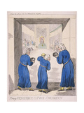 Pray Remember Us Poor Children, 1795 Giclee Print by Isaac Cruikshank