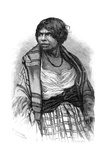 Mi'Kmaq Woman, Cape Breton, Nova Scotia, Canada, 19th Century Giclee Print by Henri Rousseau