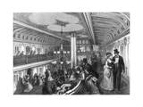 Saloon of a Steamboat, 1875 Giclee Print by Henry Linton