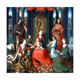 Triptych of St John the Baptist and St John the Evangelist, 1479 Giclee Print by Hans Memling
