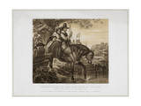 Charles II in Disguise Aided in His Escape by Jane Lane...1651 Giclee Print by Herbert Bourne