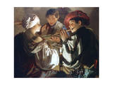 The Concert, C1626 Giclee Print by Hendrick Ter Brugghen