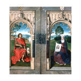 Triptych of Jan Florain, 1479 Giclee Print by Hans Memling