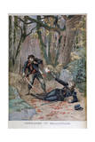 Gendarme and Poacher, Béziers, France, 1895 Giclee Print by Henri Meyer