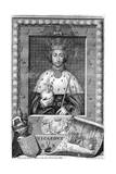 Richard II, King of England Giclée-Druck von George Vertue