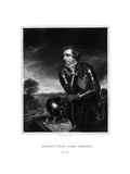 Jeffery Amherst, 1st Baron Amherst, Commander-In-Chief of the British Army Giclee Print by Henry Thomas Ryall