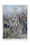 The Death of Lieutenant Grivart, Niger, 1899 Giclee Print by Henri Meyer