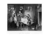 Watt's First Experiment, 18th Century Giclee Print by Herbert Bourne