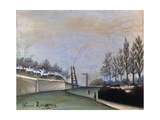 View of Vanves, 1909 Giclee Print by Henri Rousseau