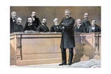 The French Government Front Bench, 1891 Giclee Print by Henri Meyer