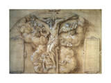 The Crucifixion, 1547 Giclee Print by Giulio Campi