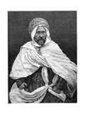 The Agha of Tugurt, C1890 Giclee Print by Henri Thiriat