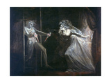 Lady Macbeth Seizing the Daggers, Exhibited 1812 Giclee Print by Henry Fuseli