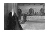 Hallucination of Macbeth During the Feast, 1909 Giclee Print by J Simont