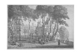 View of Fountain Court, Middle Temple, City of London, 1752 Giclee Print by Henry Fletcher