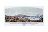 San Francisco, California, 1849 Giclee Print by Henry Firks