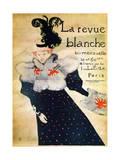 La Revue Blanche, C19th Century Giclee Print by Henri de Toulouse-Lautrec