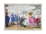 A Frolic at the Melon Shop in Piccadilly, 1826 Giclee Print by Isaac Robert Cruikshank
