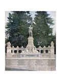 Monument to Leon Gambetta, Ville D'Avray, Paris, 1891 Giclee Print by Henri Meyer
