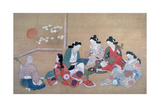 Musical Party, C1690 Giclee Print by Hishikawa Moronobu