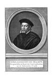 Dirk Janszoon De Graeff, 16th Century Mayor of Amsterdam Giclee Print by Jacobus Houbraken