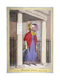 Mother Wood, the Popular Procuress!, 1820 Giclee Print by Isaac Robert Cruikshank