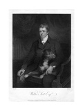 Sir Walter Scott, 1st Baronet, Prolific Scottish Historical Novelist and Poet, 1810 Giclee Print by James Heath