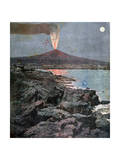 The Eruption of Etna, Sicily, 1892 Giclee Print by Henri Meyer