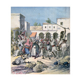 Assassination of a French Collaborator, Morocco, 1891 Giclee Print by Henri Meyer