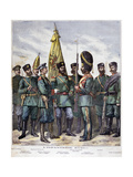 Russian Infantry, 1892 Giclee Print by Henri Meyer