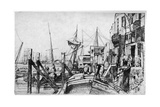 Limehouse, 19th Century Giclee Print by James Abbott McNeill Whistler