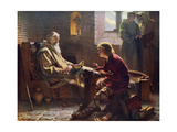 The Venerable Bede Translating the Last Chapter of St John, 1926 Giclee Print by James Doyle Penrose