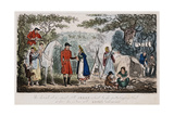 Jerry Having His Hand Read by a Gypsy, C1828 Giclee Print by Isaac Robert Cruikshank