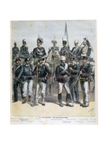 The Italian Army, 1892 Giclee Print by Henri Meyer