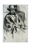 Mr Mann, 1860 Giclee Print by James Abbott McNeill Whistler