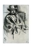 Mr Mann, 1860 Giclee Print by James Abbott McNeill Whistler