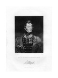 Sir Charles William Doyle, British General, 1829 Giclee Print by Henri Meyer