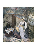 Young Mother, 1891 Giclee Print by Henri Meyer
