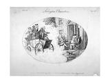 Islington Characters, 1796 Giclee Print by Isaac Cruikshank