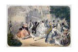 Parisian Evening, C1845-1890 Giclee Print by Henri De Montaut