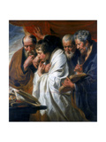 The Four Evangelists, 1620-1625 Giclee Print by Jacob Jordaens