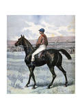 Clamart, Winner of the Grand Prix De Paris, Owned by Edmond Blanc, 1892 Giclee Print by Henri Meyer