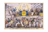 Lotteries, 1826 Giclee Print by Isaac Robert Cruikshank