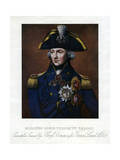 Horatio Nelson, 1st Viscount Nelson, English Naval Commander Giclee Print by Henry Bone