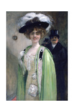 A Couple Arriving at an Event, C1872-1929 Giclee Print by Henri Gervex