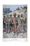 Menelik II of Abyssinia, 1895 Giclee Print by Henri Meyer