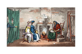 A Visit to a Fortune Teller, Early 19th Century Giclee Print by Isaac Robert Cruikshank