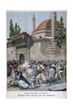 An Attack on a Mosque by Armenians, 1895 Giclee Print by Henri Meyer